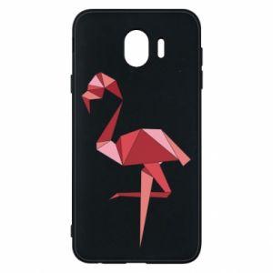 Etui na Samsung J4 Geometria Flamingo