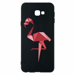Etui na Samsung J4 Plus 2018 Geometria Flamingo
