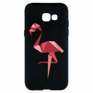 Etui na Samsung A5 2017 Geometria Flamingo