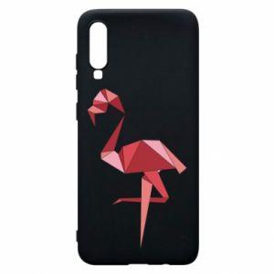 Etui na Samsung A70 Geometria Flamingo