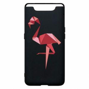 Etui na Samsung A80 Geometria Flamingo