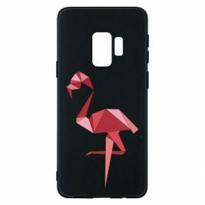 Etui na Samsung S9 Geometria Flamingo