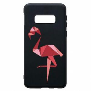 Etui na Samsung S10e Geometria Flamingo