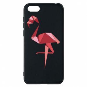 Etui na Huawei Y5 2018 Geometria Flamingo