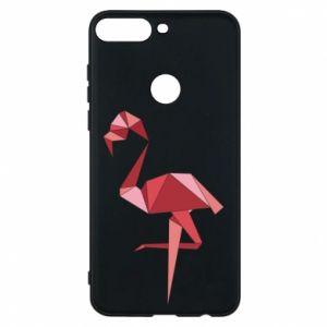 Etui na Huawei Y7 Prime 2018 Geometria Flamingo