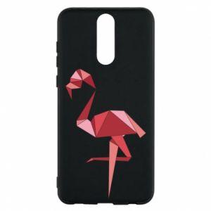 Etui na Huawei Mate 10 Lite Geometria Flamingo