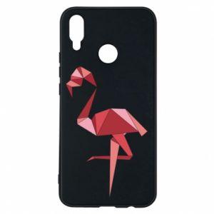 Etui na Huawei P Smart Plus Geometria Flamingo