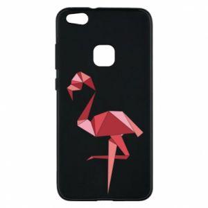 Etui na Huawei P10 Lite Geometria Flamingo