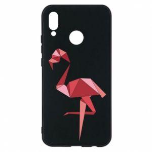 Etui na Huawei P20 Lite Geometria Flamingo