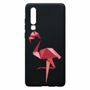 Etui na Huawei P30 Geometria Flamingo