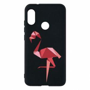 Etui na Mi A2 Lite Geometria Flamingo