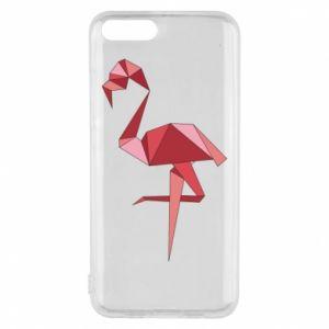 Etui na Xiaomi Mi6 Geometria Flamingo