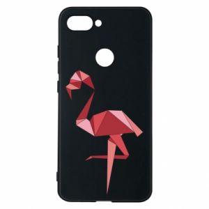 Etui na Xiaomi Mi8 Lite Geometria Flamingo