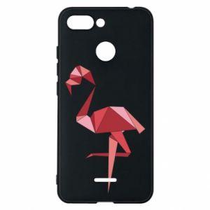 Etui na Xiaomi Redmi 6 Geometria Flamingo