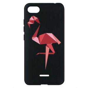 Etui na Xiaomi Redmi 6A Geometria Flamingo