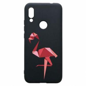 Etui na Xiaomi Redmi 7 Geometria Flamingo