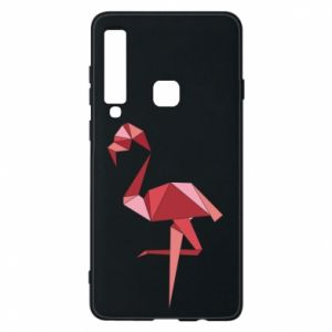 Etui na Samsung A9 2018 Geometria Flamingo