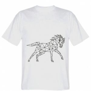 Koszulka Geometria konia - PrintSalon