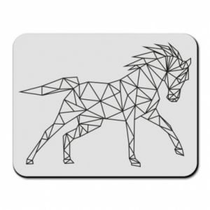 Podkładka pod mysz Geometria konia - PrintSalon