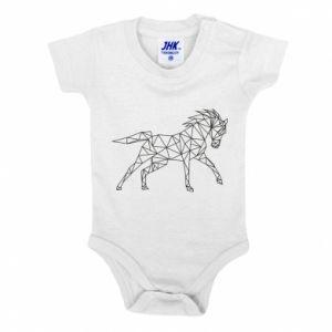 Body dla dzieci Geometria konia - PrintSalon