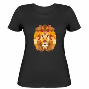 Damska koszulka Geometria Lwa
