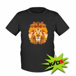 Dziecięcy T-shirt Geometria Lwa