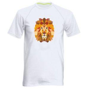 Męska koszulka sportowa Geometria Lwa
