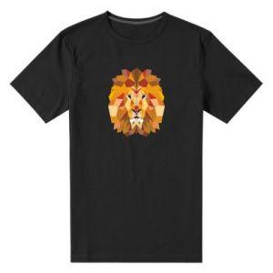 Męska premium koszulka Geometria Lwa