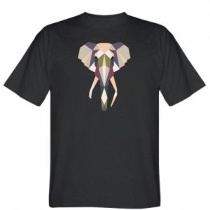 T-shirt Elephant geometry