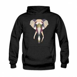Bluza z kapturem dziecięca Geometria słonia