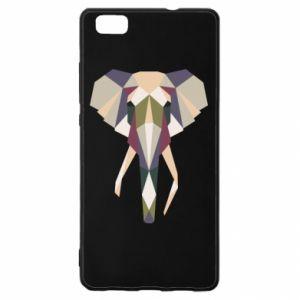 Etui na Huawei P 8 Lite Geometria słonia