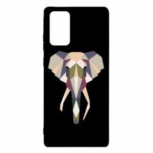 Etui na Samsung Note 20 Geometria słonia