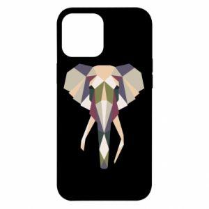 Etui na iPhone 12 Pro Max Geometria słonia