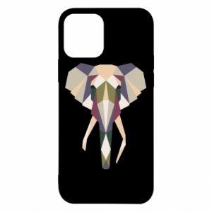 Etui na iPhone 12/12 Pro Geometria słonia