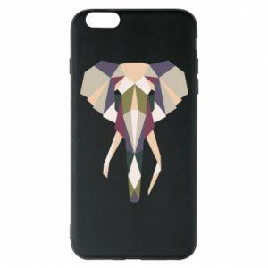 Etui na iPhone 6 Plus/6S Plus Geometria słonia