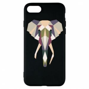 Phone case for iPhone 8 Elephant geometry