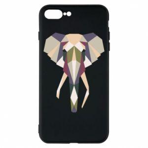 Etui na iPhone 8 Plus Geometria słonia