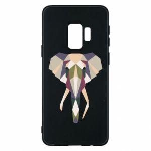 Etui na Samsung S9 Geometria słonia