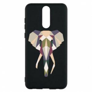 Etui na Huawei Mate 10 Lite Geometria słonia
