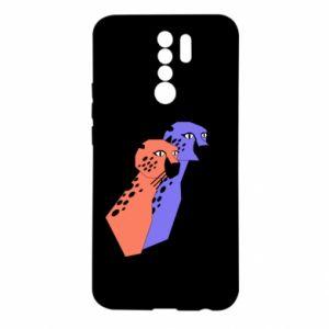Etui na Xiaomi Redmi 9 Gepardy