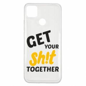 Etui na Xiaomi Redmi 9c Get your shit together