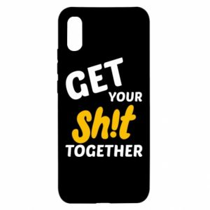 Etui na Xiaomi Redmi 9a Get your shit together