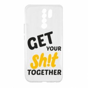 Etui na Xiaomi Redmi 9 Get your shit together