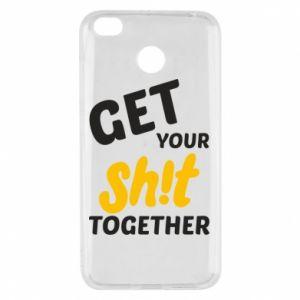 Etui na Xiaomi Redmi 4X Get your shit together