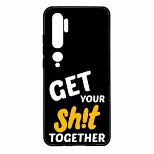Etui na Xiaomi Mi Note 10 Get your shit together