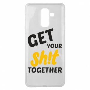 Etui na Samsung J8 2018 Get your shit together