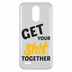 Etui na Lg K10 2017 Get your shit together
