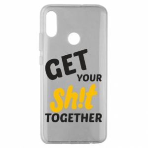 Etui na Huawei Honor 10 Lite Get your shit together