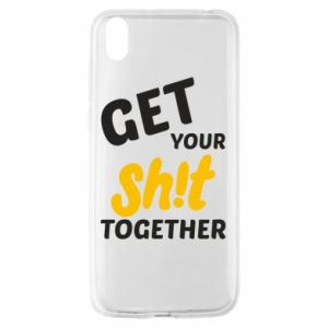 Etui na Huawei Y5 2019 Get your shit together