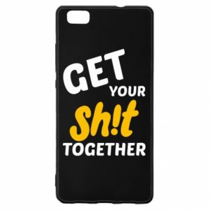 Etui na Huawei P 8 Lite Get your shit together